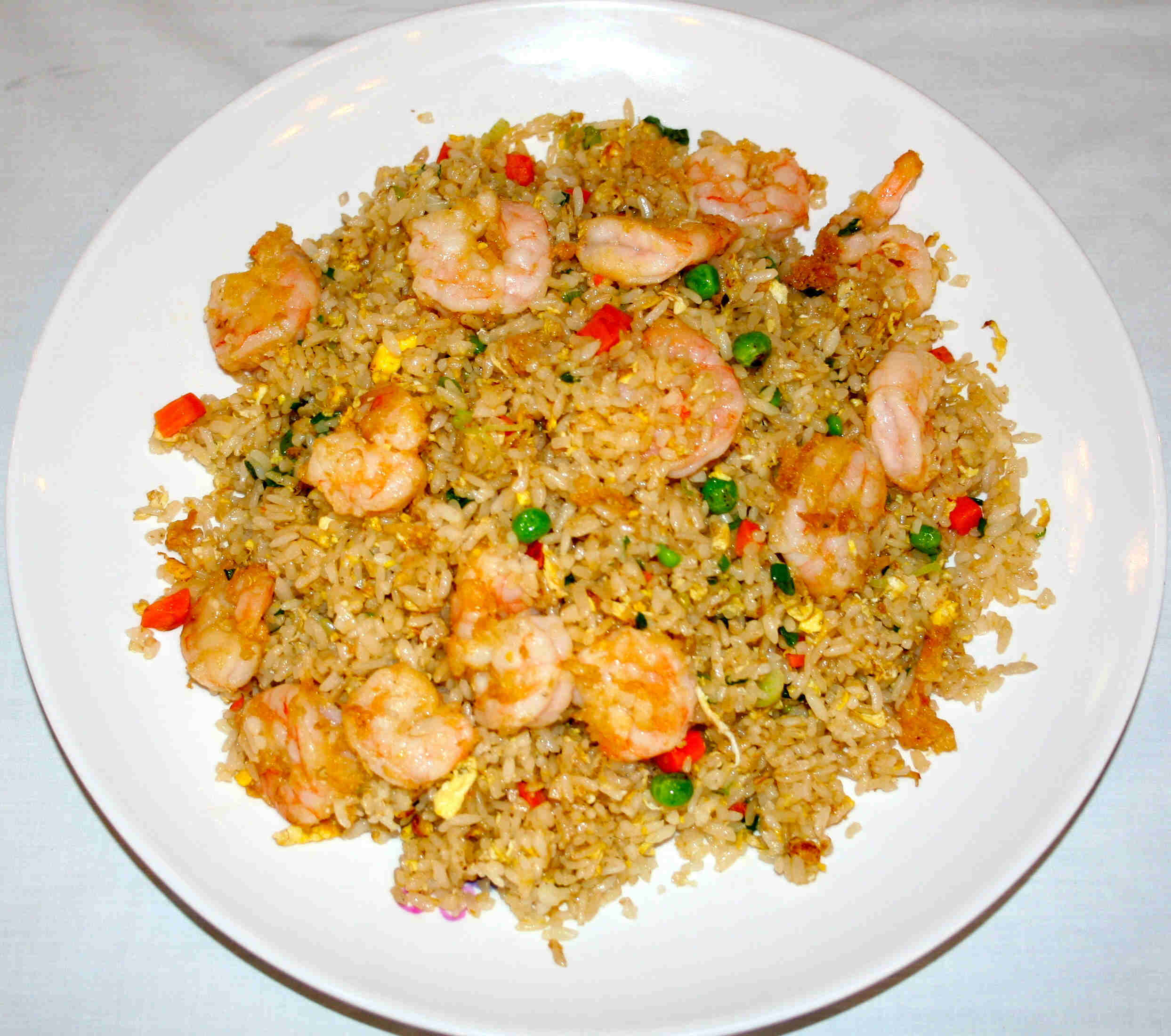 Shrimp Fried Rice With Nam Prik Pao And Crispy Lemongrass Recipes ...